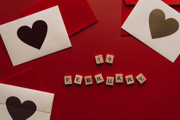 Valentinstag zu Hause